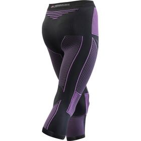 X-Bionic Accumulator Evo Medium Pants Women Charcoal/Fuchsia